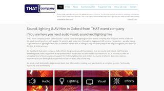 That Event Company Ltd