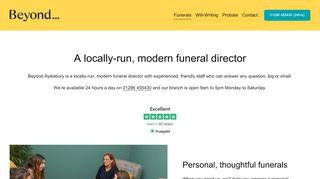 Beyond Aylesbury - A locally-run, modern funeral director
